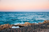 Beautiful evening on the coast of the Red Sea — Stock Photo