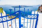 White architecture on Santorini island, Greece — Stock Photo