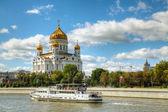基督寺在莫斯科救主 — 图库照片