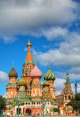 Wasyla w Moskwie na placu czerwonym — Zdjęcie stockowe