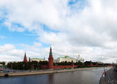 Overview of downtown Moscow — Stock Photo