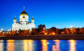 Temple of Christ the Savior in Moscow — Foto Stock