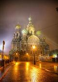 San salvador de catedral de sangre en san petersburgo, rusia — Foto de Stock