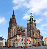 St. Vitus Cathedral in Prague on October 09, 2012 — Stock Photo