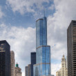 Royalty-Free Stock Photo: Trump International Hotel and Tower in Chicago