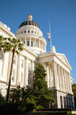 Capitol building in Sacramento, California — Stock Photo