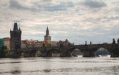 Charles bridge in Prague — ストック写真