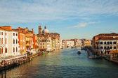 ヴェネツィア、イタリアでグランデ運河にパノラマ ビュー — ストック写真