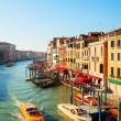 View to Grand Canal in Venice, Italy — Stok fotoğraf