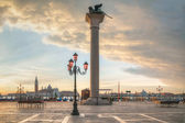 San Marco square in Venice, Italy — Stock Photo