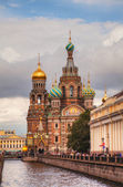 Savior on Blood Cathedral in St. Petersburg, Russia — Stock Photo