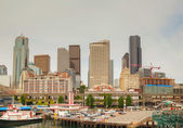 Cityscape of Seattle — 图库照片