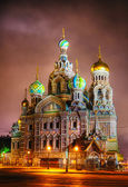 Savior on Blood Cathedral in St. Petersburg, Russia — Stockfoto