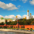 Overview of Kremlin in Moscow — Stock Photo