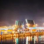 ophaalbrug in Sint-petersburg, Rusland — Stockfoto #18813321