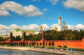 モスクワのクレムリンの概要 — ストック写真
