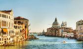 View to Basilica Di Santa Maria della Salute in Venice — Stock Photo