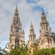 Rathaus (City hall) in Vienna, Austria — Stock Photo