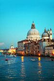 Basilica di santa maria della salute en venecia — Foto de Stock