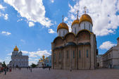 Cathedral square of Kremlin, Moscow — Stock Photo