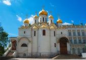 在莫斯科的克里姆林宫报喜大教堂 — 图库照片