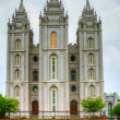Stock Photo: Mormons' Temple in Salt Lake City, UT