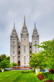 Mormons' Temple in Salt Lake City, UT — Stock Photo
