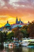 Prag eski genel bakış — Stok fotoğraf