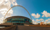 Wembley stadium in London, UK on a sunny day — Stock Photo