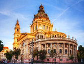 St. Stefan basilica in Budapest, Hungary — Stock Photo