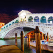 Stock Photo: Rialto Bridge (Ponte Di Rialto) in Venice, Italy