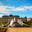 Belvedere palace in Vienna, Austria — Stock Photo