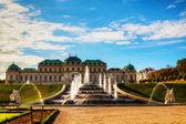Belvedere sarayı, viyana, avusturya — Stok fotoğraf