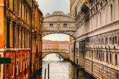 Bridge of Sighs in Venice, Italy — Stock Photo