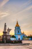 St. Michael monastery in Kiev, Ukraine — Stock Photo