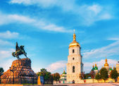 St. Sofia monastery in Kiev, Ukraine — Stock Photo