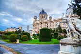 Muzeum historii naturalnej w wiedniu, austria — Zdjęcie stockowe