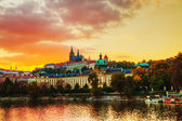 Overview of old Prague — Stock Photo