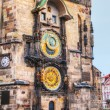 The Prague Astronomical Clock in Prague — Stock Photo