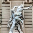 Sculpture in front of St. Michael's wing of Hofburg Palace in Vi - Stock Photo