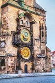 The Prague Astronomical Clock in Prague — Stock Photo