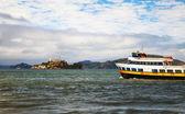 Alсatraz island in San Francisco bay, California — Stock fotografie