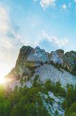 Mount Rushmore monument in South Dakota — Stock Photo