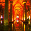 Basilica Cistern interior — Stock Photo