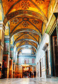 Interior of Hagia Sophia in Istanbul, Turkey — Stock Photo