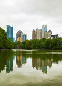 Midtown Atlanta on a cloudy day — Stock Photo