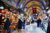 Grand Bazaar in Istanbul interior — Stock Photo