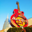 Hard Rock cafe sign in Nashville — Stock Photo