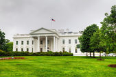 The White House building in Washington, DC — Stock Photo