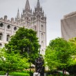 Mormons' Temple in Salt Lake City, UT — Stock Photo #28876557